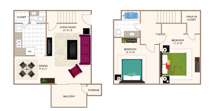 WOODS 2.15PB 1094 Floor Plan