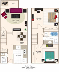 Village 2 Townhome 1156